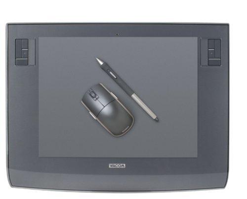 Wacom Intuos3 12 Inch Tablet Metallic Gray