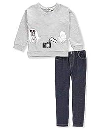 Jessica Simpson Girls' 2-Piece Leggings Set Outfit