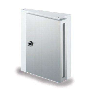 郵便ポスト NASTA デザインポスト KS-MB31S-L 静音大型ダイヤル錠 壁付けポスト ピュアホワイト B00QX1262U 17820 ピュアホワイト ピュアホワイト