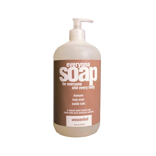 Unscented Body Soap - EO, Liquid Soap Unscented, 32 Fl Oz