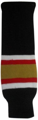 DoGree Hockey Ottawa Senators Knit Hockey Socks, 28-Inch, Black/White/Red ()