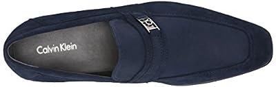 Calvin Klein Men's Bartley Suede Slip-On Loafer