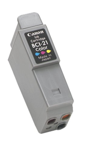 Buy canon bci-21 color ink tank twin pack