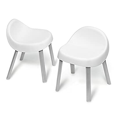 Skip Hop Explore & More Kids & Toddlers Activity Chairs, White : Baby