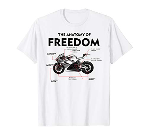 The Anatomy Of Freedom Shirt | Cute Supermotos T-shirt Gift