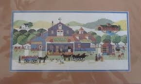(Dimensions Wysocki's Orchard Counted Cross Stitch No. 3586 from the Charles Wysocki Collection ~ 16