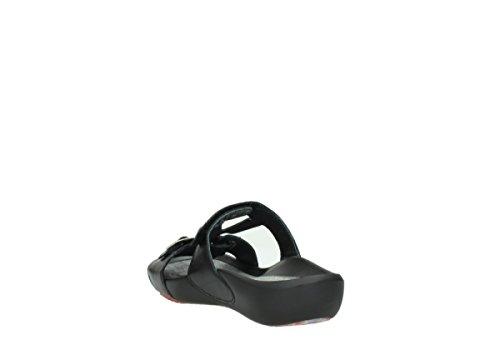 Schwarz 01000 Leder Comfort nbsp;Oconnor Wolky Pantoletten 30000 qXnUwn6f