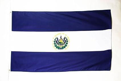 AZ FLAG Bandera de El Salvador 150 x 90 cm