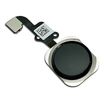 best website 6a48f 0b399 Replacement Home Button for iPhone 6 / 6 Plus with Flex Cable Touch ID  Sensor Home Key Assembly (Black) US Shipping