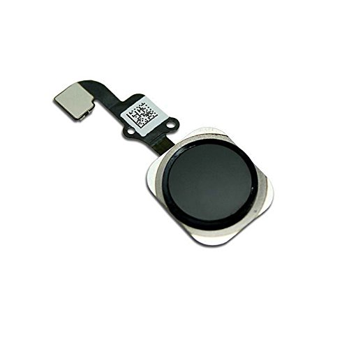 best website 12a7d d39f0 Replacement Home Button for iPhone 6 / 6 Plus with Flex Cable Touch ID  Sensor Home Key Assembly (Black) US Shipping
