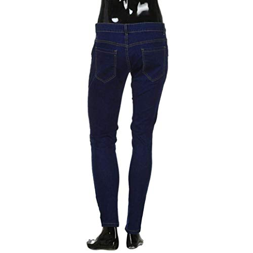 Fashion Workout Skinny Pantaloni Pants Slim Distressed Long Biker Closure Hrenjeans Jeans Ssig Frayed Huixin Uomo Estate F 7zqw1Z1