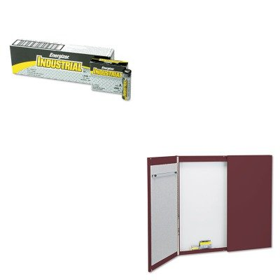 KITEVEEN91QRT878 - Value Kit - Quartet Cabinet (QRT878) and Energizer Industrial Alkaline Batteries (EVEEN91) by Quartet