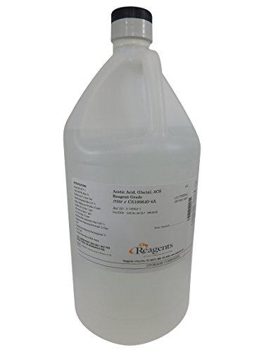 - Reagents C5100640-4A Acetic Acid, Glacial ACS Reagent, ACS Reagent Grade, 4 L