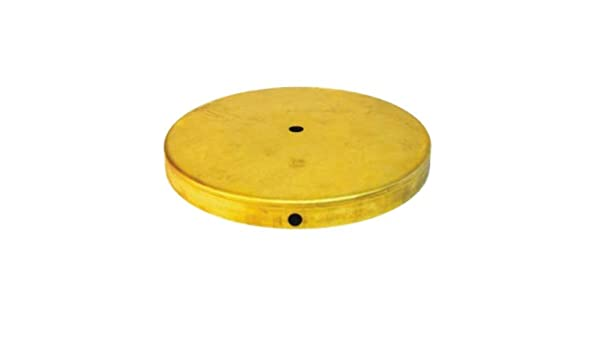 Pie metálico de latón para lámparas de 250mm de diámetro ...