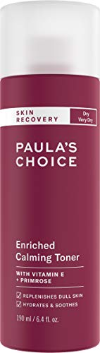 Paula's Choice SKIN RECOVERY Calming Toner, 6.4 Ounce Bottle Toner for the Face, for Sensitive Facial Skin and Dry Redness-Prone Skin (Best Toner For Redness)