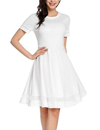 mesh arm dress - 4