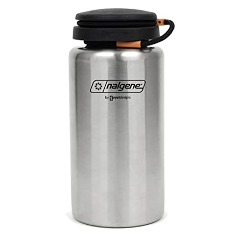 Amazon.com   Nalgene Stainless Bottle 38 oz.   Camping Canteens ... 4ddfa1f462c0
