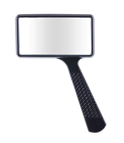 Rectangular Magnifying Glass (Igoolee Handheld Rectangular Magnifying Glass, Large Horizontal Magnifier Glass 3X Magnification for Reading or Hobby )