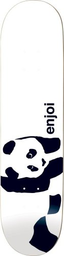 (Enjoi Whitey Panda Wide Deck, 8.0-Inch)