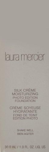 Laura Mercier Silk Creme Moisturizing Photo Edition for WoMen, Foundation, Pecan, 1 Ounce by laura mercier (Image #1)