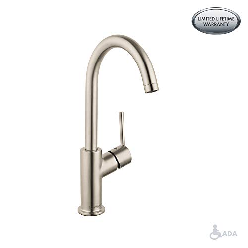 hansgrohe Talis S  Modern N/A-Handle  -inch Tall Bathroom Sink Faucet in Chrome, 32082001