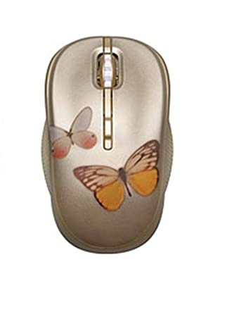 448b16c140f HP Wireless Optical Mouse Featuring Vivienne Tam Butterfly Lovers Design  (2.4G, WJ161AA#ABB): Amazon.co.uk: Computers & Accessories