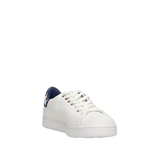 Trussardi Jeans 79S504 Sneakers Donna WHITE/RED 37
