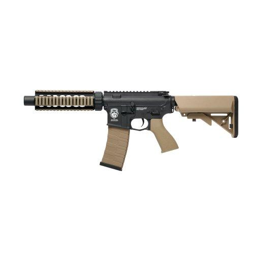 g&g armament gr4 cqb-s mini aeg airsoft rifle black / tan new(Airsoft Gun)