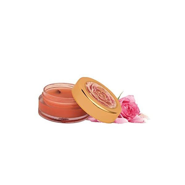 Khadi Essentials Wild Rose Lip Butter with Rose Petals, Cocoa Butter and Turmeric Oil, For Dry Chapped Lips and Lip… 2021 August The product comes in safe package The product does not include any harmful ingredients Easy to use