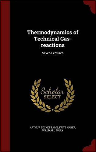 Book Thermodynamics of Technical Gas-reactions: Seven Lectures