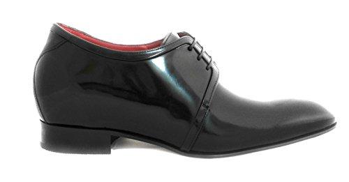Hauteur De Zerimar Augmentant Les Chaussures Dascenseur Pour Les Hommes Ajoutent +2,8 Pouces À Votre Hauteur Qualité Floratus Chaussures De Cuir Noir Fait En Espagne Marron