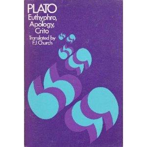 Plato - Euthyphro, Apology, Crito (Bobbs-Merrill)