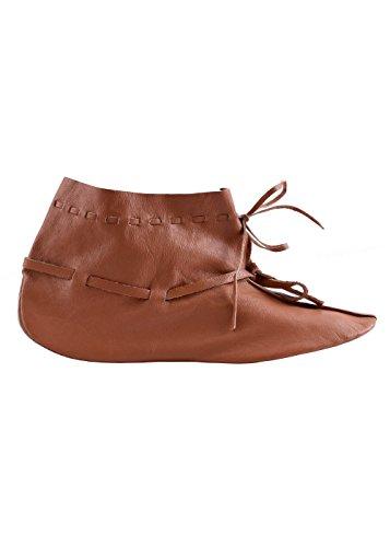 Unbekannt - Zapatos de cordones de Piel para hombre marrón marrón
