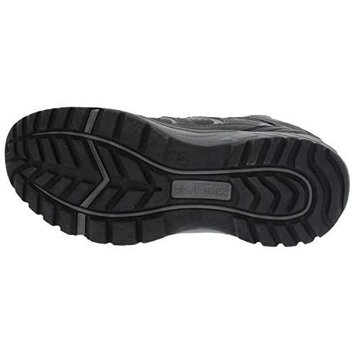 e2e0fcaf790 Khombu Tyler Men's Black Leather Hiking Boot Size UK 10: Amazon.co ...