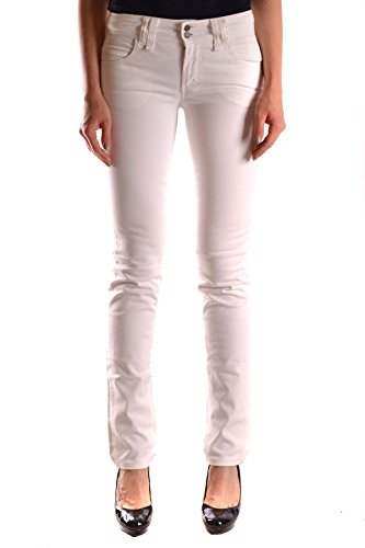 Galliano Femme MCBI130059O Blanc Coton Jeans