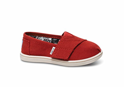 - TOMS Classic Red Canvas 013001D13-RED Tiny 6