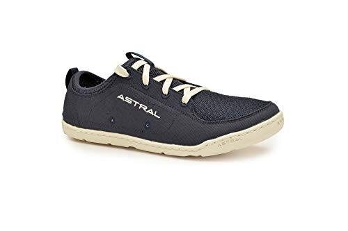 Astral Women's Loyak Everyday Outdoor Minimalist Sneakers, Lightweight and Flexible, Made for Water, Casual, Travel, and Boat, Navy/White, 6 M US