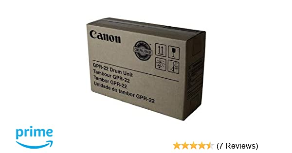 Amazon.com: Canon GPR-22DR Imaging Drum Unit - 1 Pack in Retail Packing: Office Products