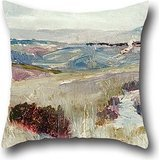 The Oil Painting Charles Conder - Dandenongs From Heidelberg Pillowcase Of ,18 X 18 Inches / 45 By 45 Cm Decoration,gift For Indoor,home,sofa,drawing Room,dinning Room,pub (double (Costume World Dandenong)