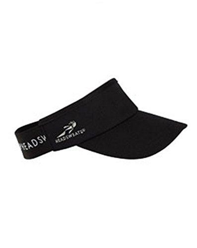Headsweats HDSW02 Supervisor - Black - One (Headsweats Visor)