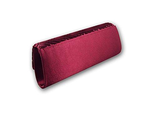 CG brillantissimi cristalli Evening Clutch-Borsa, colore: rosso di cinque colori ...