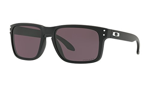 Oakley Holbrook Sunglasses Matte Black with Prizm Grey Lens + - Lenses Oakley Prizm Holbrook