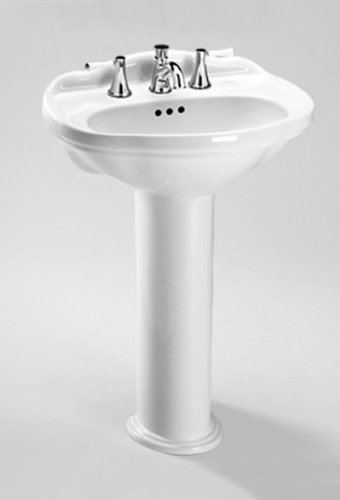 Toto LPT754#12 Whitney Pedestal Lavatory, Sedona Beige