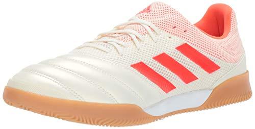 adidas Copa 19.3 Indoor SALA, White/Solar red/Gum, 12 M US ()