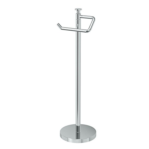 Gatco 1435C Standing Tissue Holder, Chrome, -