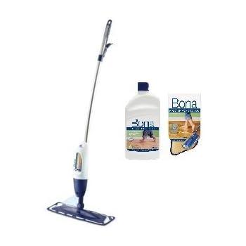 Amazon Bona Hardwood Floor Spray Curve Mop Includes 2875 Oz