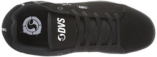 Varies Black Men's DVS Schwarz White Black Shoe Skateboarding Black Revival APPAREL H1xHqOY