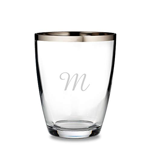Engraved Waterford Elegance Champagne Cooler With Platinum Band Engraved & Monogrammed - Wedding Gift - Anniversary Gift - Great Gift for Mother's Day, Weddings and Groomsmen
