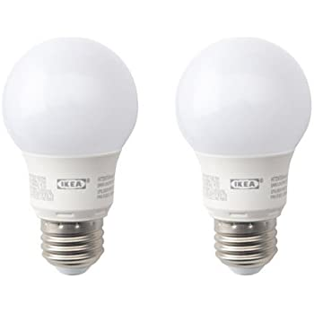 IKEA RYET LED Bulb E26 400 Lumen Globe Opal Set Of 2
