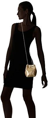 Jessica McClintock Kendra Mesh Bucket Evening Shoulder Bag